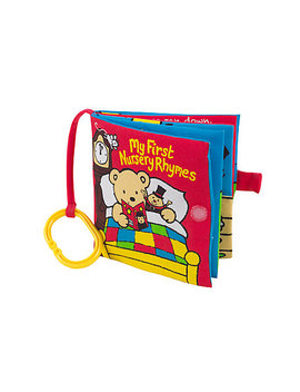My First Nursery Rhymes Soft Book by Mothercare