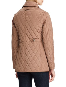 Double Breasted Quilted Peacoat by Lauren Ralph Lauren