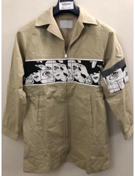 Comic Strip Trench Coat by Prada  ×