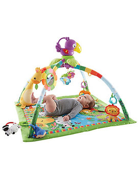 Fisher Price Rainforest Deluxe Gym by Mothercare