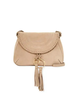 See By Chloe Polly Medium Leather Crossbody Saddle Bag by See By Chloe