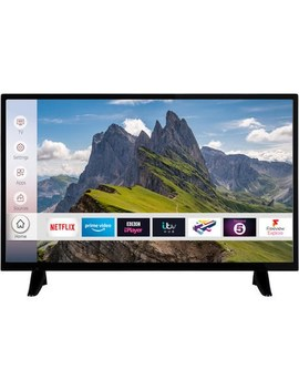 """Electri Q 32"""" Hd Ready Led Smart Tv With Freeview Hd And Freeview Play by Electriq"""
