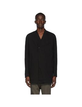 Black Resin Dyed Blazer by Boris Bidjan Saberi