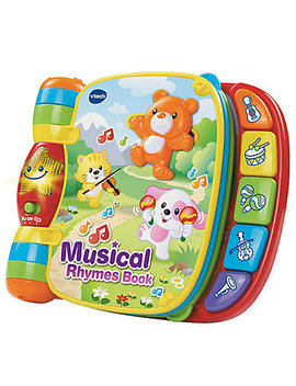 V Tech Musical Rhymes Book by Mothercare