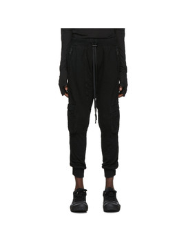 Black Dyed Lounge Pants by Boris Bidjan Saberi