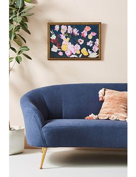 Navy Peonies Wall Art by Artfully Walls