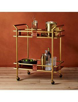 Frye 2 Tier Bar Cart ™ by Crate&Barrel