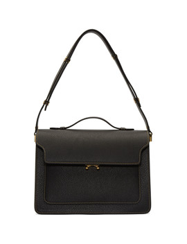 Black Trunk Bag by Marni
