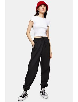 Tall Black 90's Oversized Joggers by Topshop