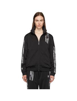 Black Firebird Track Jacket by Adidas Originals By DaniËlle Cathari