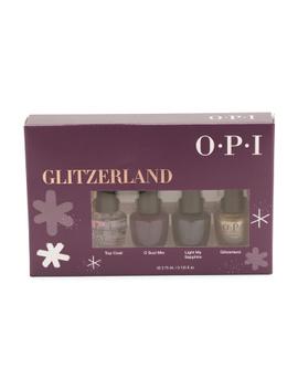 4pk Glitzerland Mini Nail Lacquer Set by Tj Maxx