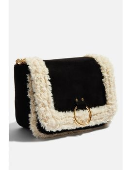 **Roxy Shearling Cross Body By Skinnydip by Topshop