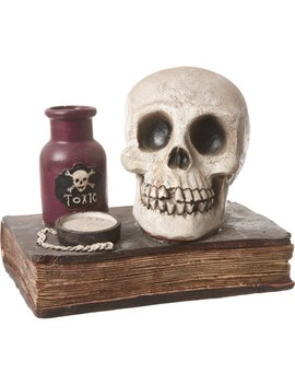 "Witch Crafters Scull With Book   8"" by Witch Crafters"