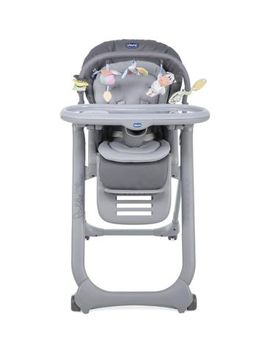 Chicco Polly Magic Relax Highchair   4 Wheels Graphite by Chicco