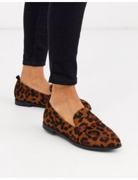 Raid Ashley Loafers In Leopard by Raid