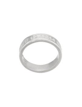 Embossed Ring by Maison Margiela