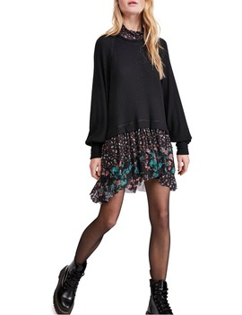 Opposite Attraction Long Sleeve Dress by Free People