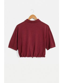 Urban Renewal – Remade Poloshirt In Burgund Rot Mit Logo by Urban Renewal Shoppen