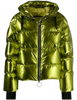 Short Padded Jacket by Ienki Ienki