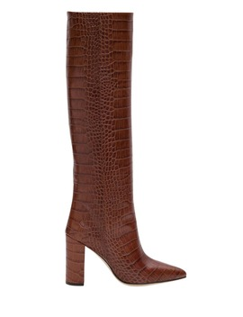 Paris Texas Moc Croc Boots by Paris Texas