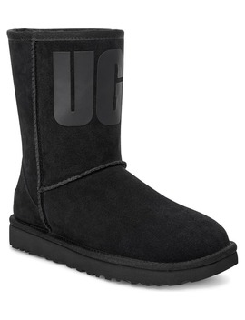 Classic Short Logo Boot by Ugg