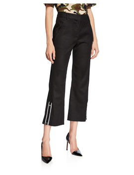 Martin Cropped Flare Pants by Veronica Beard