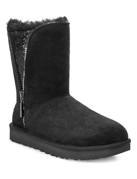 Classic Sequin Inset Zip Boot by Ugg