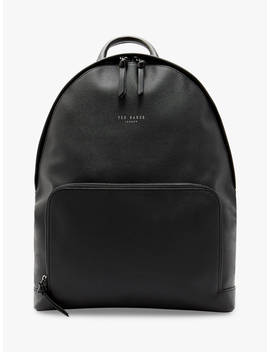 Ted Baker Cunning Matte Backpack, Black by Ted Baker