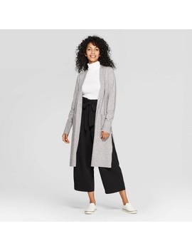 Women's Long Sleeve Cozy Open Layer Sweater Cardigan   A New Day™ by A New Day