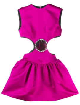 Cupcake Cut Out Dress by Christopher Kane