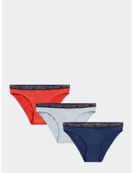 3 Pack Stretch Cotton Briefs by Tommy Hilfiger