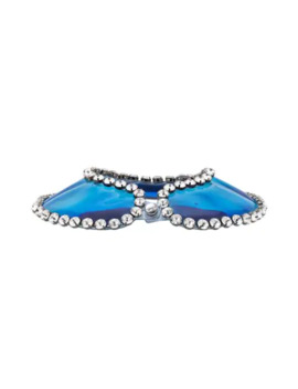 Gel And Crystal Collar by Christopher Kane