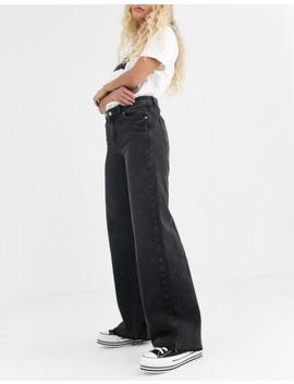 Dr Denim – Jam – Vida Jeans Med Råskurna Benslut by Dr Denim