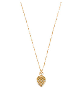Made In Italy 18k Gold Diamantissima Heart Necklace by Tj Maxx