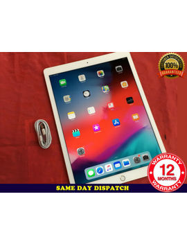 Grade A Apple I Pad Pro 1st Gen. 128 Gb, Wi Fi, 12.9in   Gold I Os 13 Ref: 509 by Ebay Seller