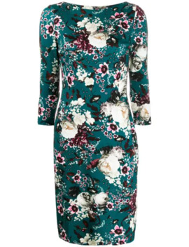 Floral Printed Dress by Erdem