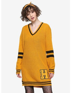 Harry Potter Hufflepuff Sweater Dress by Hot Topic
