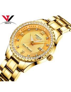 Nibosi Couple Watch Relogio Feminino Women Watches Quartz Mens Watches Top Brand Luxury Lover Watches Gold Quartz Wristwatch by Ali Express.Com