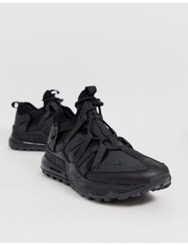 Nike Air Max 270 Bowfin Trainers In Triple Black Aj7200 005 by Nike
