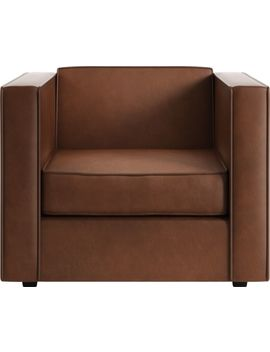 Club Leather Chair by Crate&Barrel