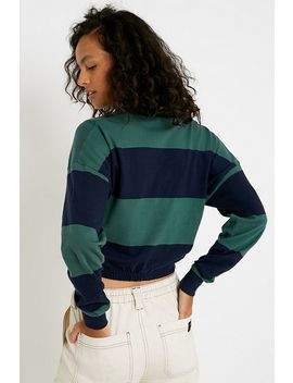 Iets Frans... Stripe Long Sleeve Rugby Top by Iets Frans...