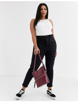 New Look Curve   Mom Jeans Neri by New Look