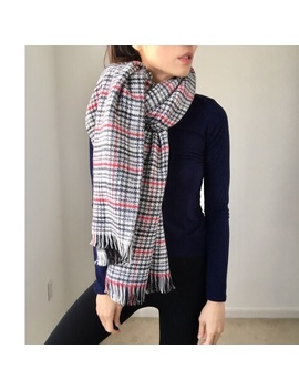 Cashmere Like Soft Reversible Wrap Blanket Scarf   Boutique by Chicbomb
