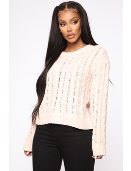 Don't Get Mad About It Sweater   Pink by Fashion Nova