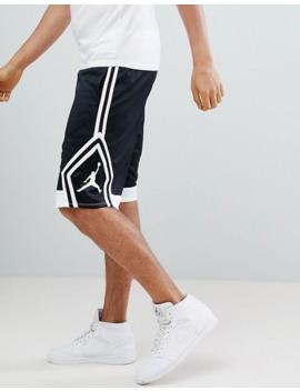 Jordan Diamond Shorts In Black 887438 013 by Jordan