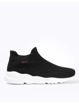 Textured Slip On Sports Shoes by Red Tape