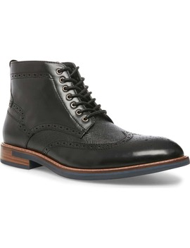 Tributes Wingtip Boot by Steve Madden