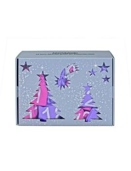 24 Piece Christmas Holiday Make Up Pink &Amp; Purple Advent Calender Satin Bags by Ebay Seller
