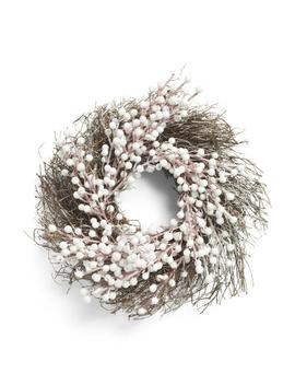 12in Berry Twig Wreath by Tj Maxx