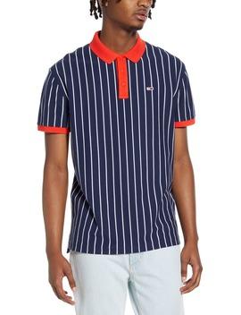 Tjm Retro Stripe Piqué Polo by Tommy Jeans